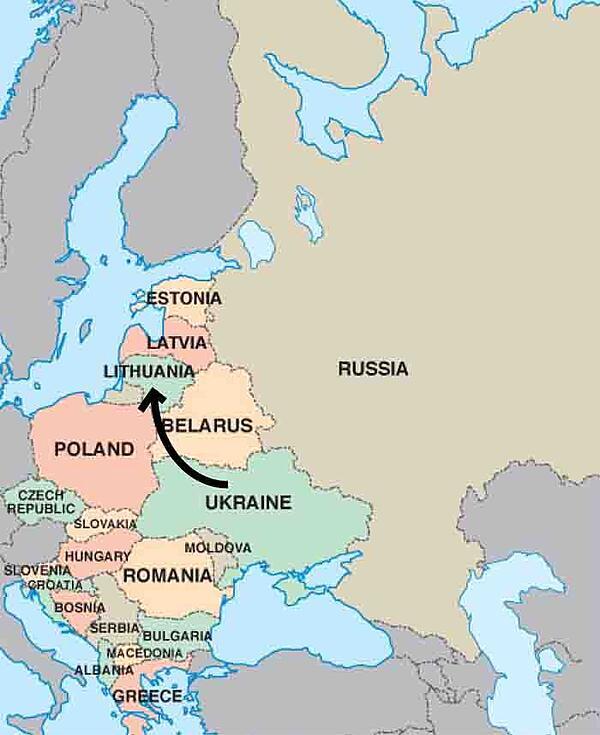 Eastern Europe Map - ILP