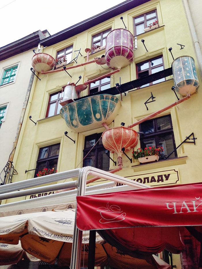 Lviv chocolate factory