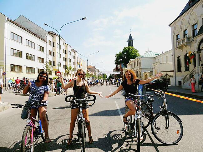 bike ride in europe