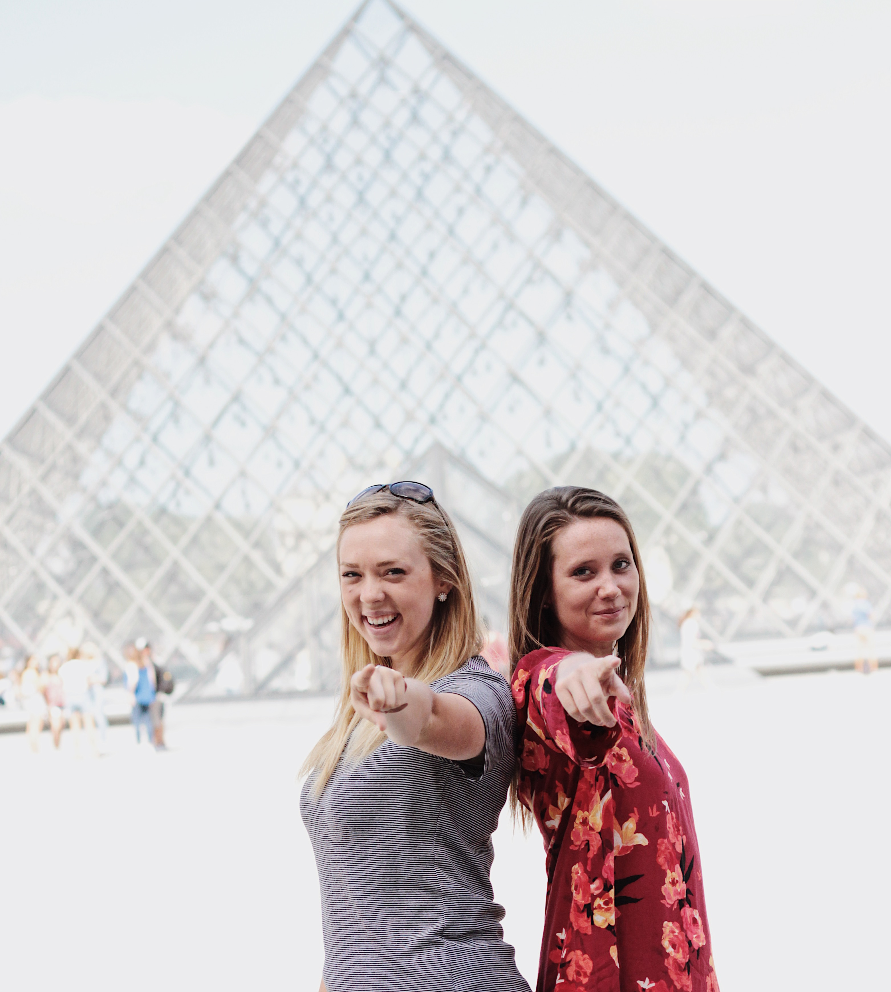 ILP Volunteers at the Louvre