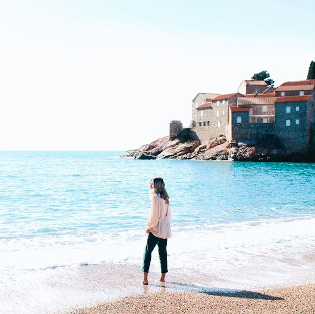 Budva coast, Montenegro