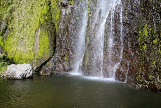 hike to San Ramon Waterfall