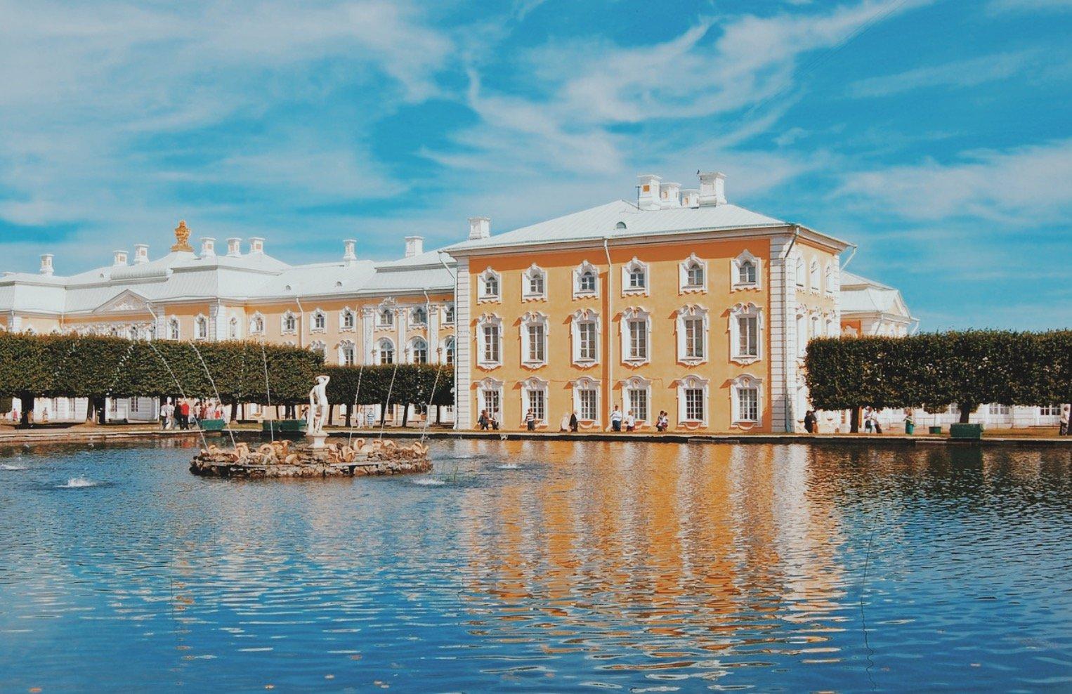Peterhof palace Russia