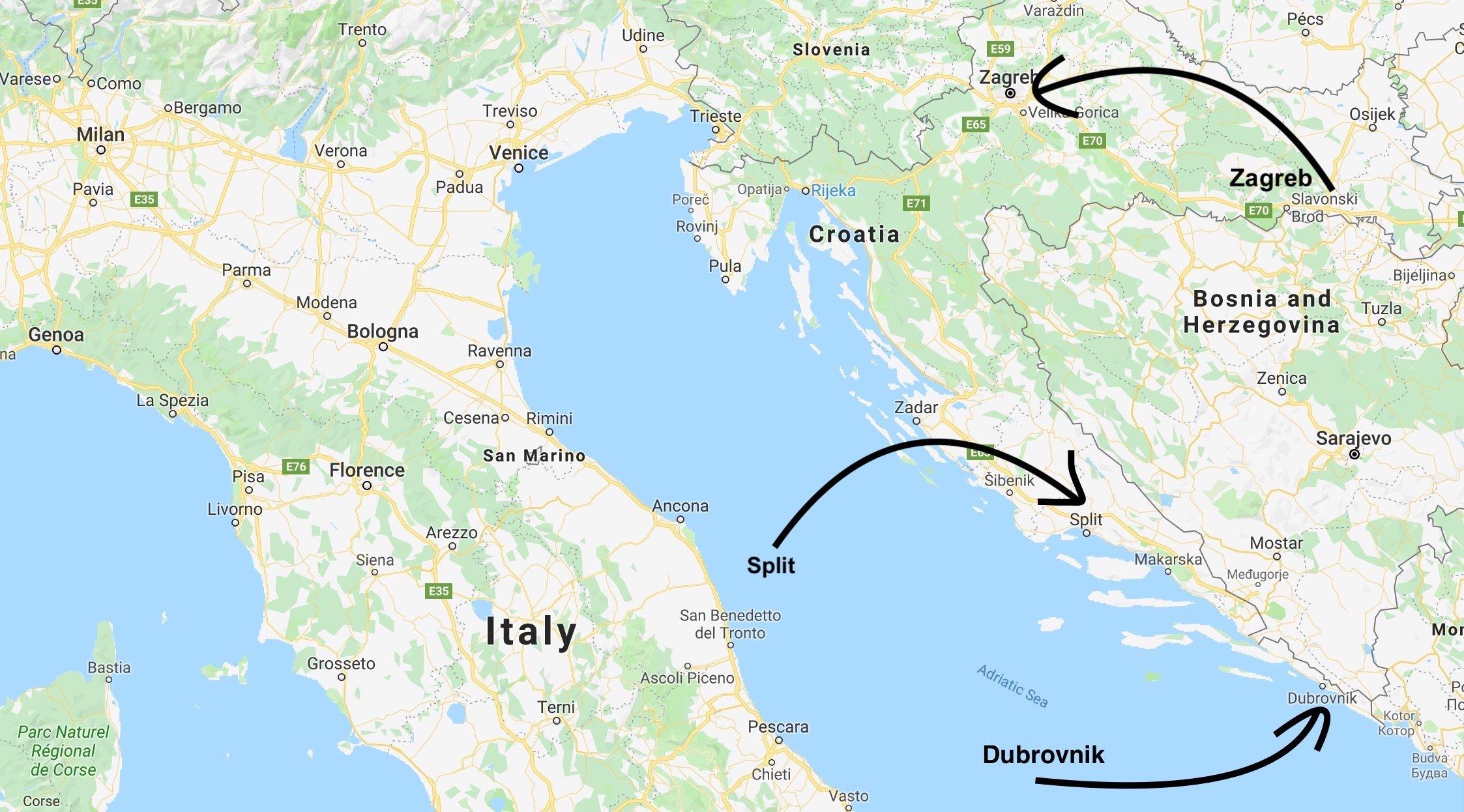 ILP Croatia - Dalmation Coast