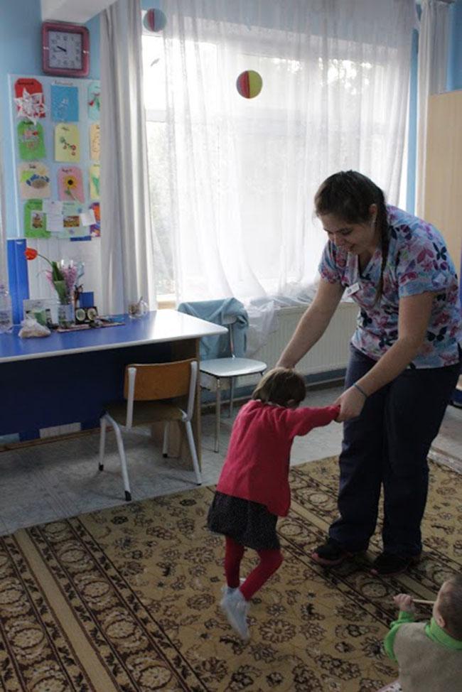 ILP Romania volunteer