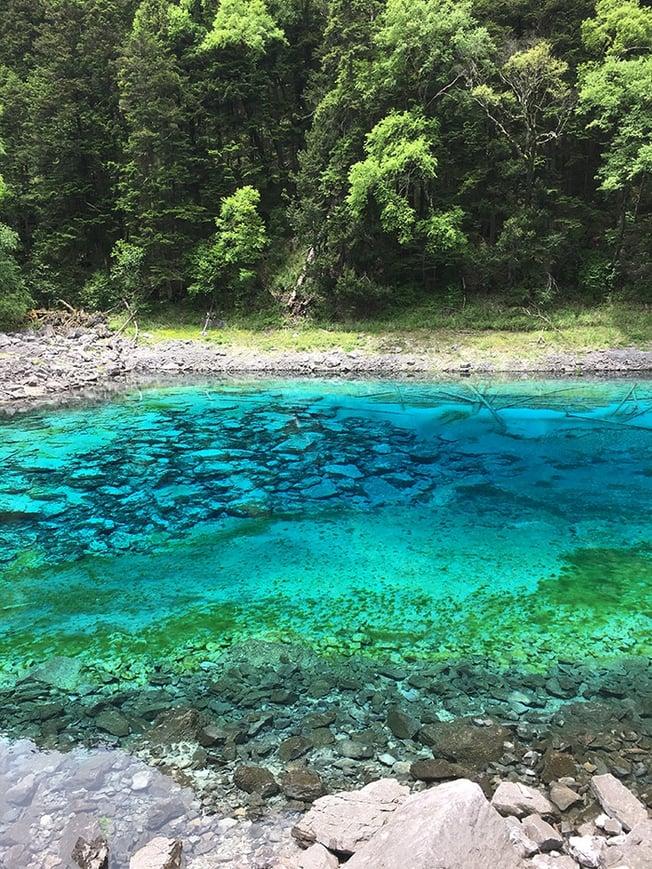 Jiuzhaigou 5 color lakes
