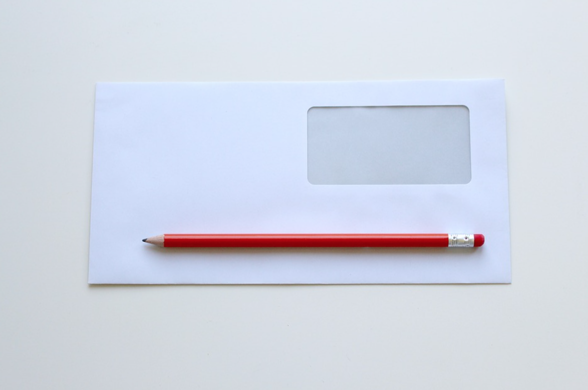 Budget with envelopes