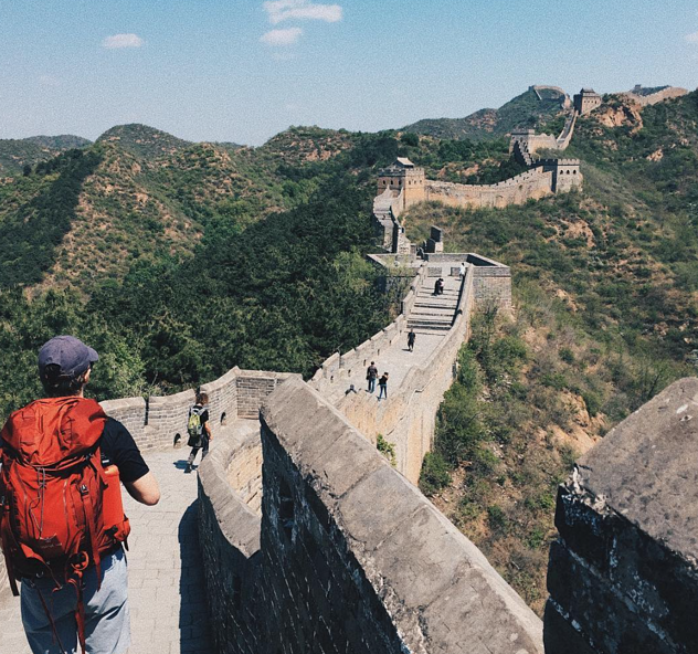Sleep overnight on the Great Wall of China with ILP