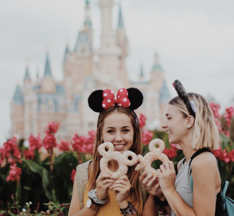 Go to Disneyland in China as an ILP volunteer