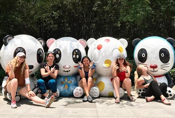 Volunteers in China
