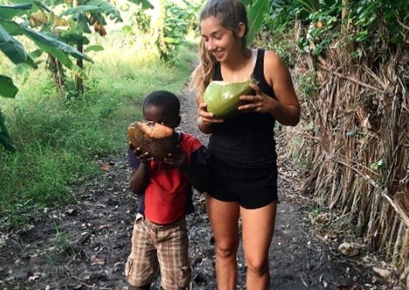 ILP Haiti volunteer