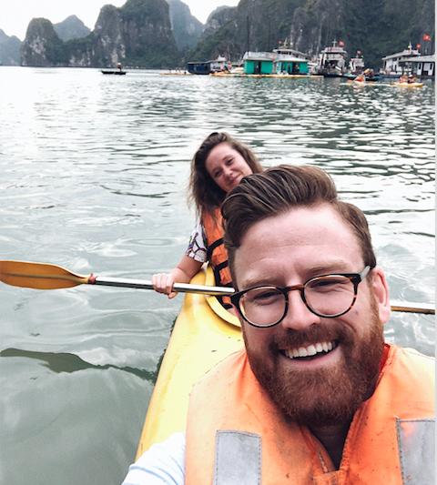 ILP Adventure - Kenz and Jer in Vietnam