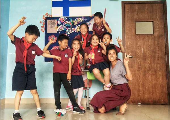 ILP Volunteer in China