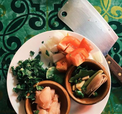 ILP Thailand -  Cooking school ingredients