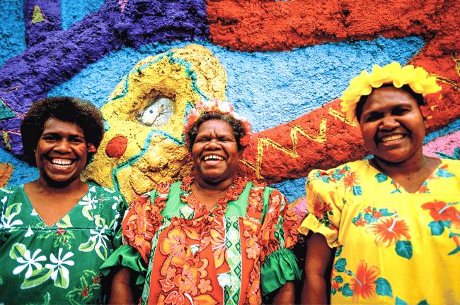 Volunteer in Vanuatu