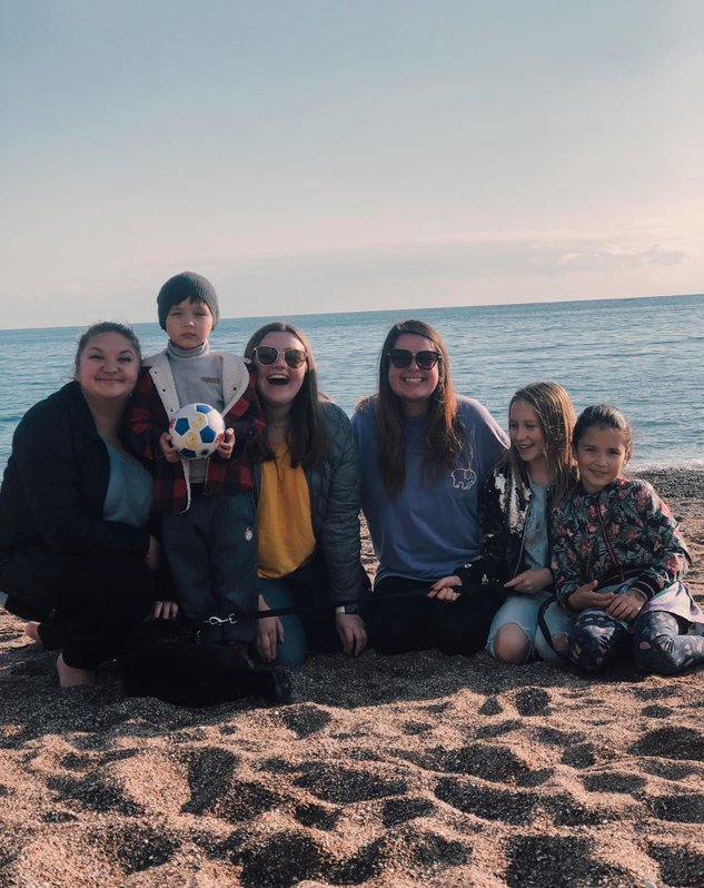 Teaching English to kids in Europe - the orphanage  program