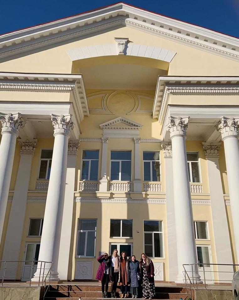 LDS church in Russia