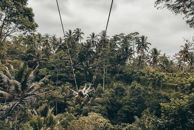Bali Swing with ILP Volunteers