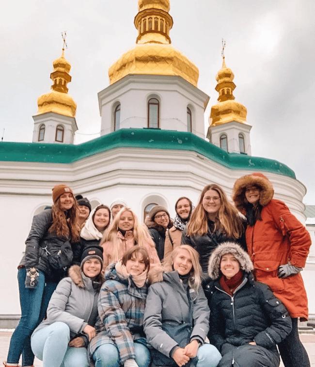 Teaching English in Ukraine with ILP