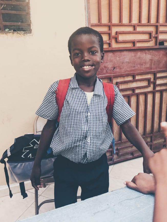 Volunteer in Haiti with ILP