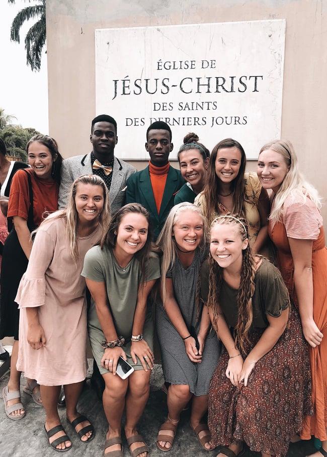 LDS church in Haiti