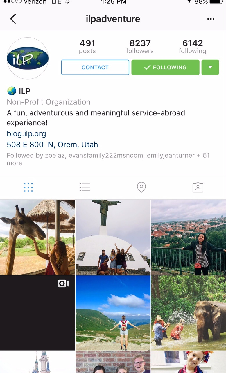 serve abroad with ilp