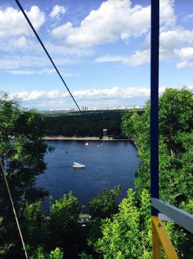 zip line in Kiev