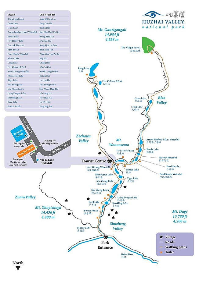 Visitor Map - ILP Adventure