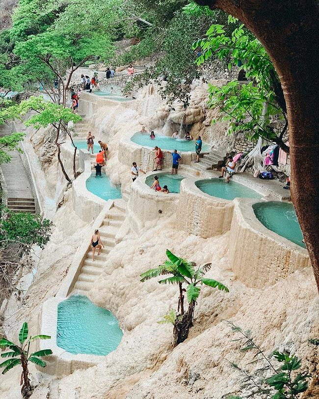 Mexico Hot Springs