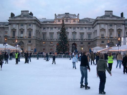 ice skate in Europe