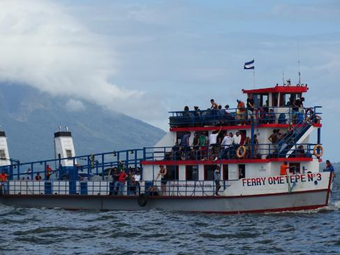 ferry to Ometepe Island