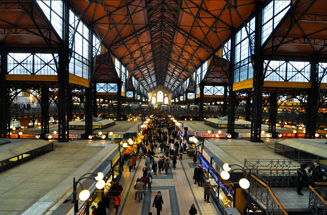 Budapest, Hungary market