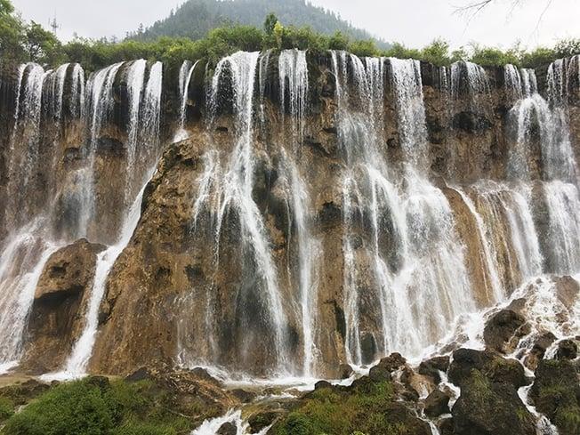 nuorilang waterfall - ILP China