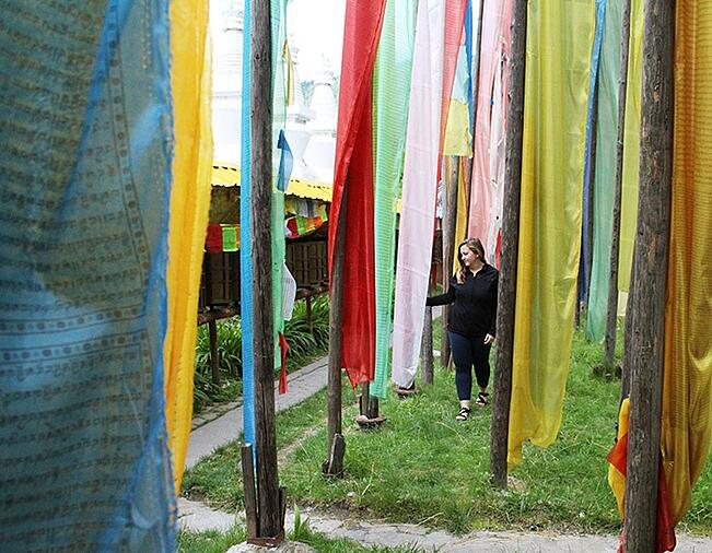 prayer flags - ILP China