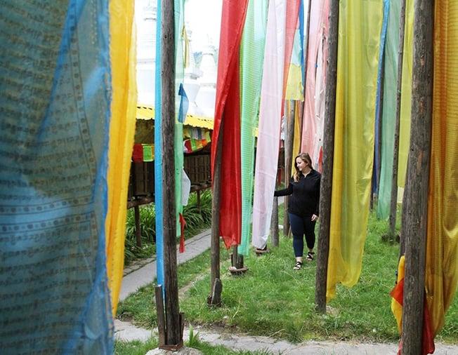 prayer flags - ILP China