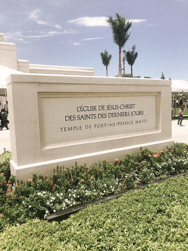 LDS Temple Haiti