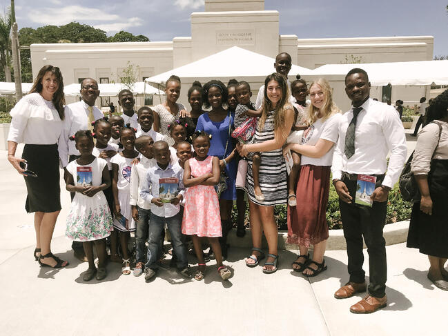 LDS Temple Dedication
