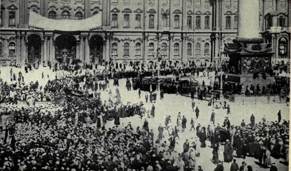 Russian Revolution in Leningrad